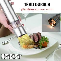 1/2/3/5X Electric Spice Grinder Herb Salt Pepper Mill Home K