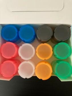 1 Piece herb Grinder + Container Spice Plastic color.