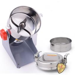 110V 700g Electric Grain Cereal Herbs Spice Mill Grinder Flo