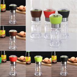 1X Home Kitchen Pepper Spice Salt Mill Grinder Muller Plasti