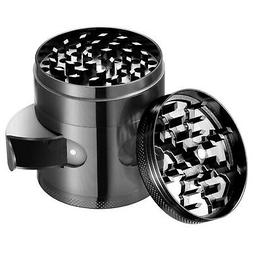 OMorc 2.4'' Spice Herb Grinder with Visible Window, Hollow-c