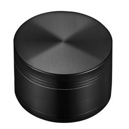 "OMorc 2"" Spice Herb Grinder 4 Piece Set-Black"
