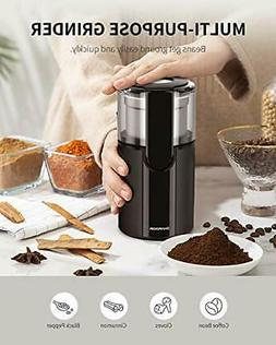 200W Electric Spice Coffee Nut Seed Herb Grinder Crusher Mil
