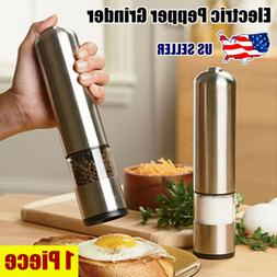 2020 New Electric Salt Pepper Spice Sauce Stainless Steel Mi