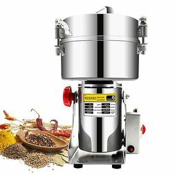 CGOLDENWALL 2500g Commercial Electric Grain Grinder Mill Spi