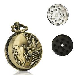 3-layer 44mm Metal Herb & Spice Mills Tobacco Grinder Spice