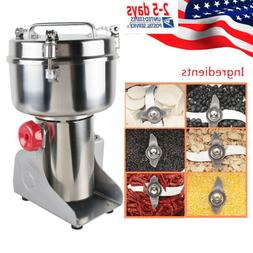 3000W Grains Spices Herbals Cereals Coffee Dry Food Grinder