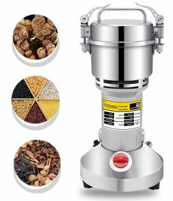 Cgoldenwall 300G Electric Grain Mill Spice Herb Grinder Pulv