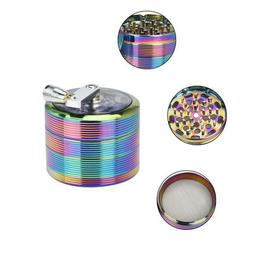 4-layer 61mm Metal Herb & Spice Mills Tobacco Grinder Spice