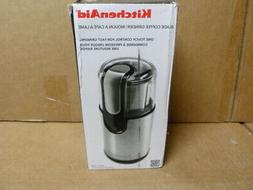KitchenAid 4 oz Onyx Black Coffee Grinder Spice Kitchenaid S