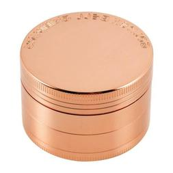 "Golden Bell 4 Piece 2"" Spice Herb Grinder - Rose Gold, Gold"