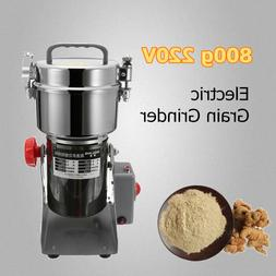 550W 800G Electric Herb Grain Cereal Herbs Spice Mill Grinde