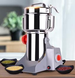 800g Home Electric Grain Cereal Herbs Spice Mill Grinder Flo
