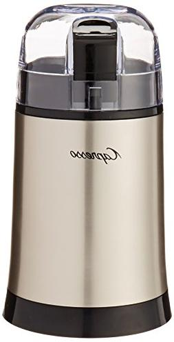 Capresso 505.05 Cool Grind Coffee and Spice Grinder, Stainle