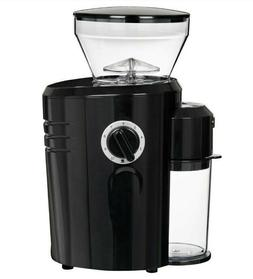 AUTOMATIC CONICAL BURR COFFEE GRINDER W/STAINLESS STEEL BLAD