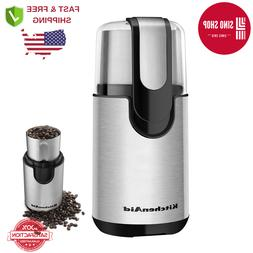 KitchenAid BCG111OB Blade Coffee Grinder- Onyx Black,Brewed