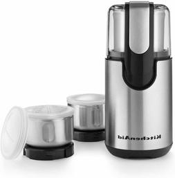 KitchenAid BCG211OB Blade Coffee and Spice Grinder Combo Pac