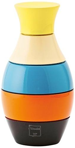 Bisetti BT-33730 Icons Vase Lacquered Spice Mill, 6.30 by 3.
