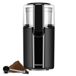 Burr Coffee Grinder Electric Spice Mill Espresso Bean Stainl