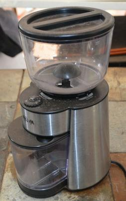 Mr. Coffee BVMC-BMH23 Automatic Burr Mill Grinder Black/Silv