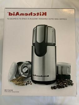 KitchenAid Coffee and Spice Grinder, BCG211OB New