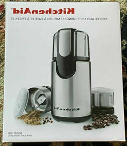 KitchenAid® Coffee and Spice Grinder Onyx Black, BCG211OB