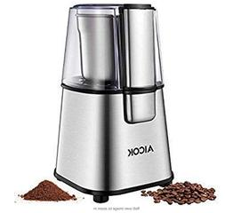 Coffee Grinder Electric AICOK Nut & Spice Grinder with Large