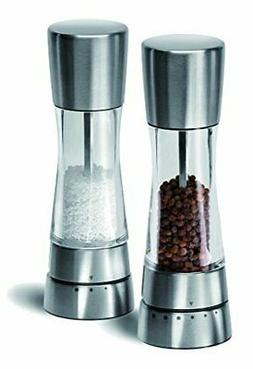 Cole & Mason Derwent Salt & Pepper Mill Giftset, Stainless S