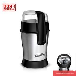 Electric Coffee Bean Herb Burr Grinder Spices Nuts Seed Stai