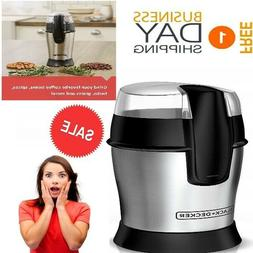 Electric Coffee Beans Herb Nuts Spices Grains Grinder Stainl