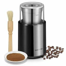 AEVOBAS Electric Coffee Grinder Coffee Bean Spice Nut Grindi