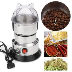 Electric Coffee Grinder Burr Mill Fresh Beans Spices Nuts St