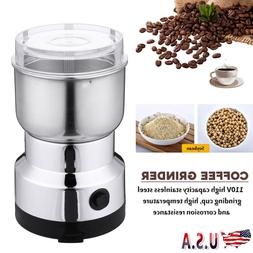 electric coffee grinder dining bar bean spice