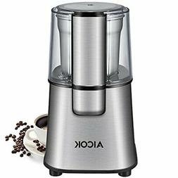 AICOK Electric Coffee Grinder Fast and Fine Fineness Coffee
