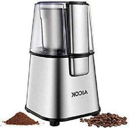 AICOK Electric Coffee Grinder Fast and Fine Fineness Spice G