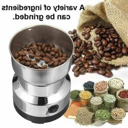 Electric Coffee Grinder Grinding Milling Bean Nut Spice Matt