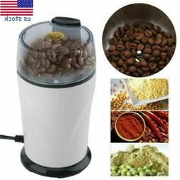 Electric Coffee Grinder Herbs Spice Nuts Grain Coffee Bean G