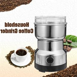 Electric Coffee Grinder Nut And Spice Grinder In Stainless S