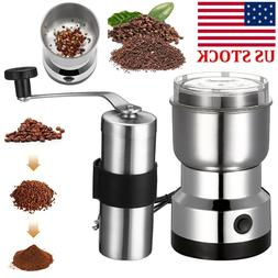 electric manual spice coffee nut seed herb