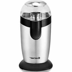 Electric One-Touch Coffee & Spice Grinder Stainless Steel Bl