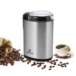 USA Electric Coffee Spice Grinder with Stainless Steel Blade