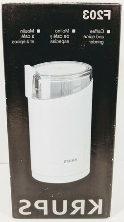 KRUPS F2037051 Electric Spice and Coffee Grinder with Stainl