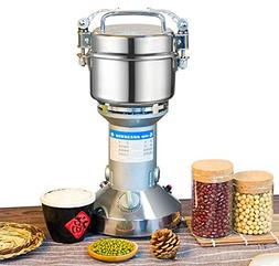 NEWTRY 300g Electric Stainless Steel Pulverizer Blender Herb