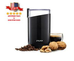 KRUPS F203 Best Electric Spice and Coffee Grinder 200W w/ St