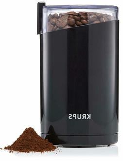 KRUPS F203 Electric Spice and Coffee Grinder, 3 oz / 85g, Bl
