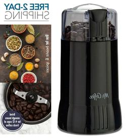 Mr. Coffee Electric Spice & Coffee Grinder with Stainless St