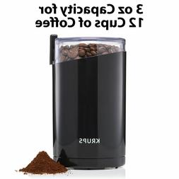 Krups F203 Electric Spice Coffee Grinder Stainless Steel Bla