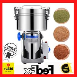 Grinding Machine Grains Spices Cereals Coffee Dry Food Grind