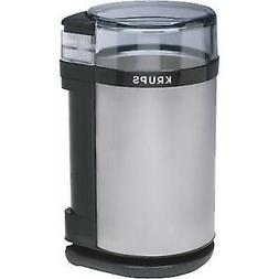 Krups GX4100 Electric Spice Herb and Coffee Grinder Grey