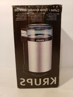 KRUPS GX4100 Electric Spice Herbs and Coffee Grinder with St